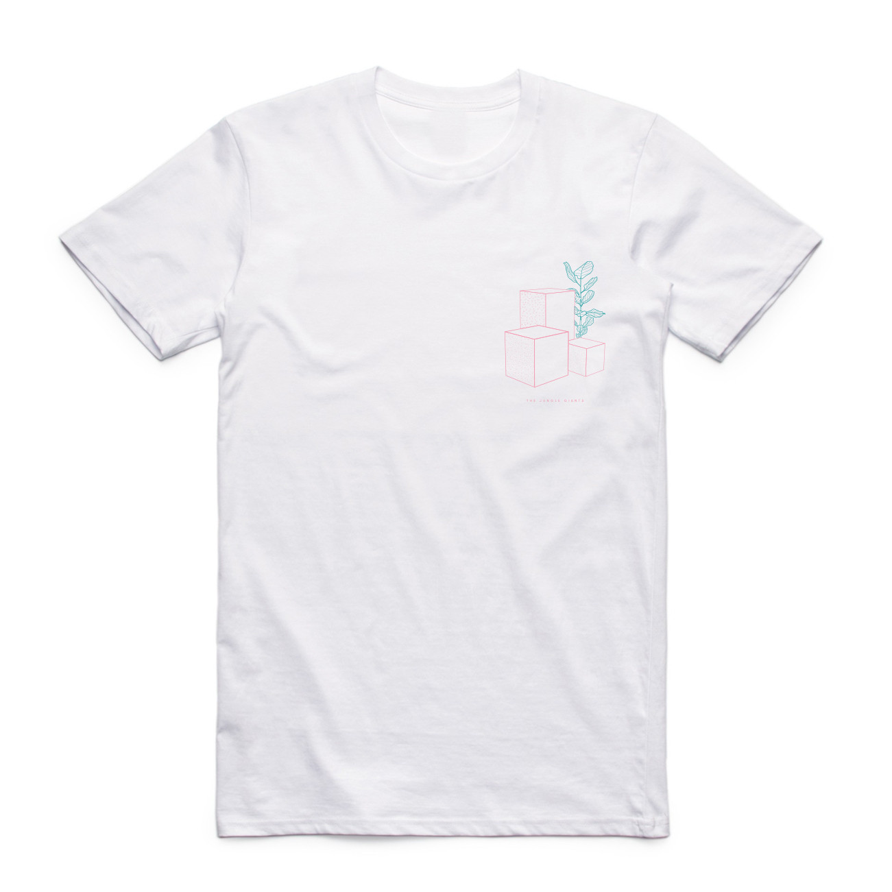 The Jungle Giants - Quiet Ferocity White Tee