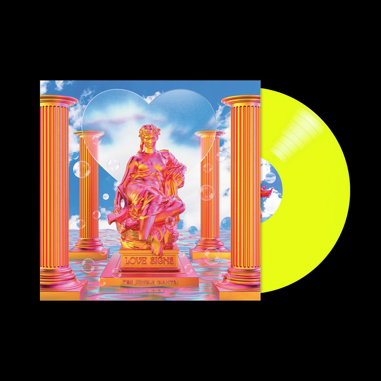 Love Signs Neon Yellow Vinyl