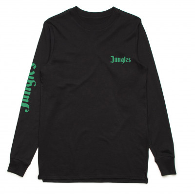 The Jungle Giants - Black Logo Longsleeve Tee