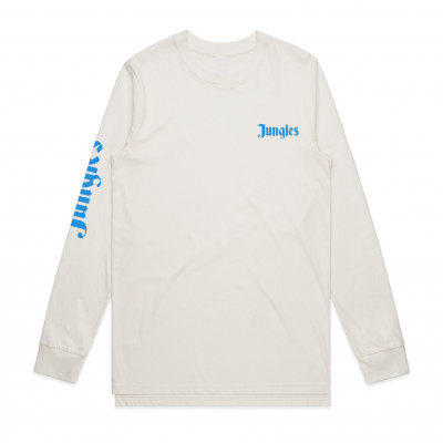 The Jungle Giants - White Logo Longsleeve Tee