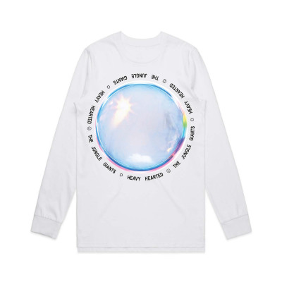 White Bubble Longsleeve