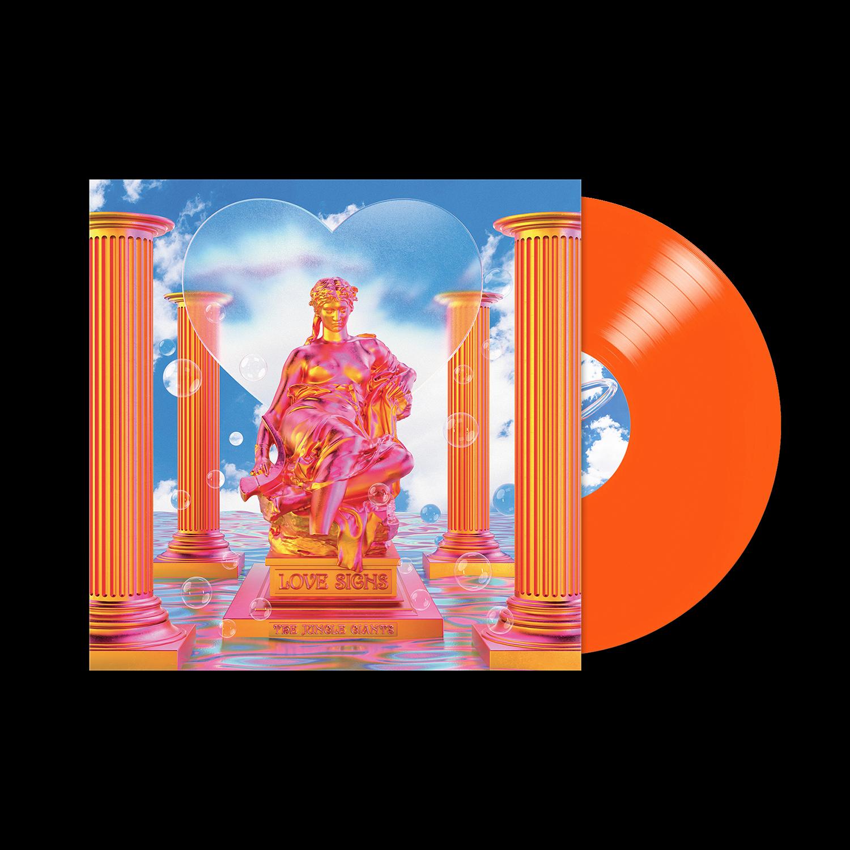 Love Signs Neon Orange Vinyl