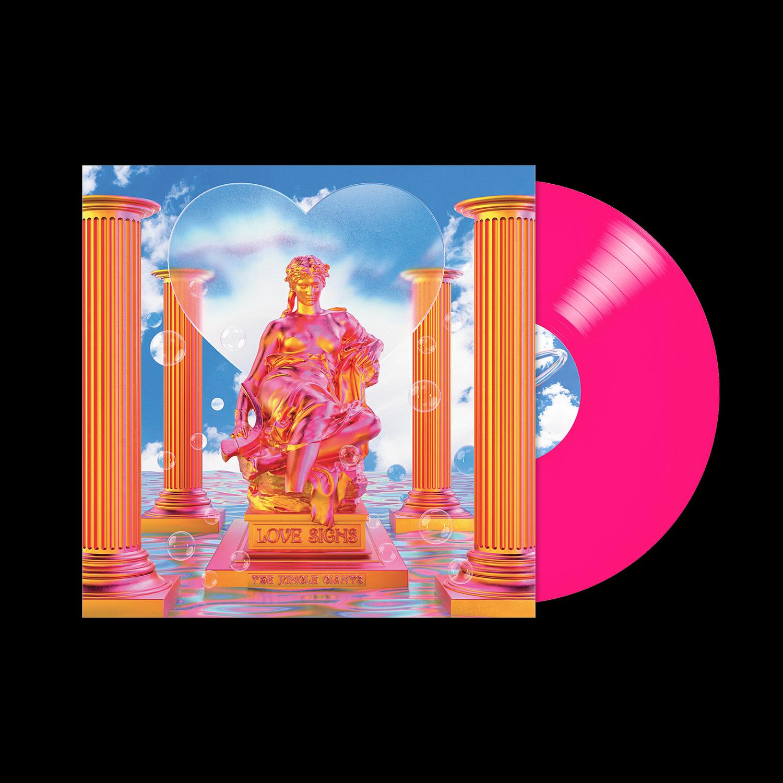 Love Signs Neon Pink Vinyl