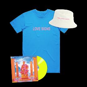 Love Signs Yellow Vinyl & Tee Bundle