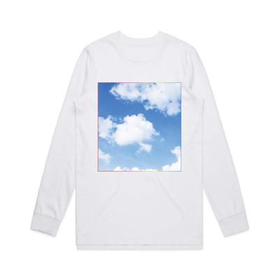 White Square Cloud Longsleeve